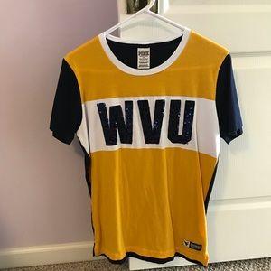 West Virginia University Campus T VS PINK sz S
